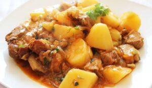 картошка с мясом в афганском казане